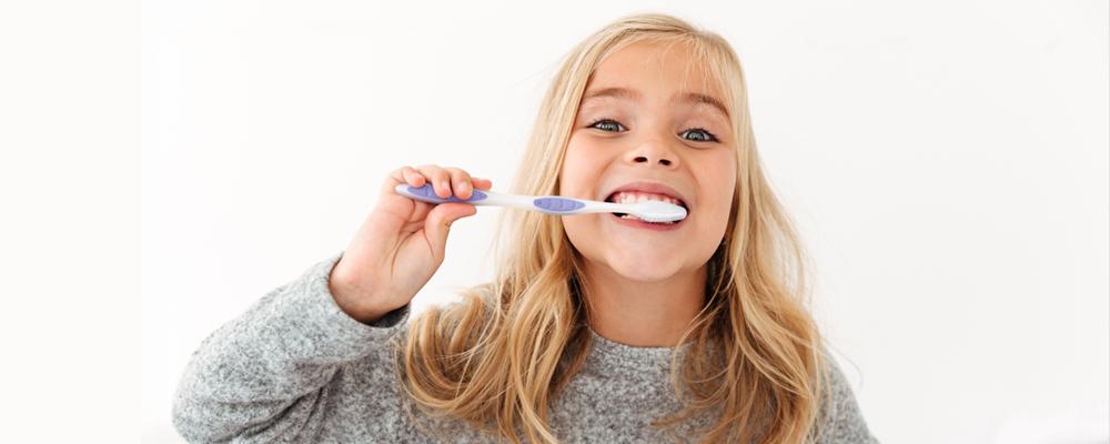 La higiene dental SÍ es cosa de niños